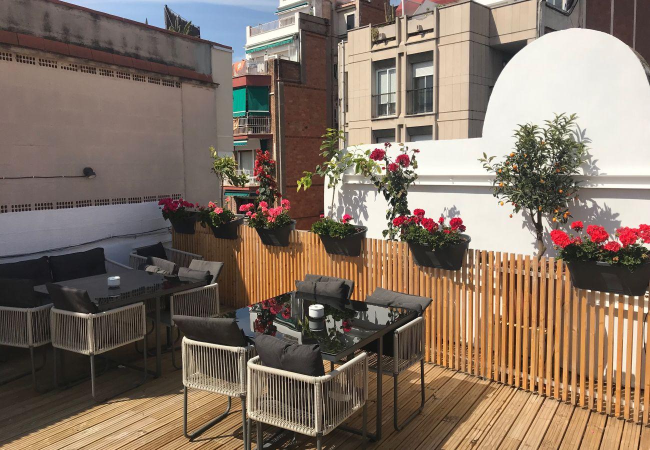 Apartamento en Hospitalet de Llobregat - Olala Design Apartment 1.1 | 10m Pl.España