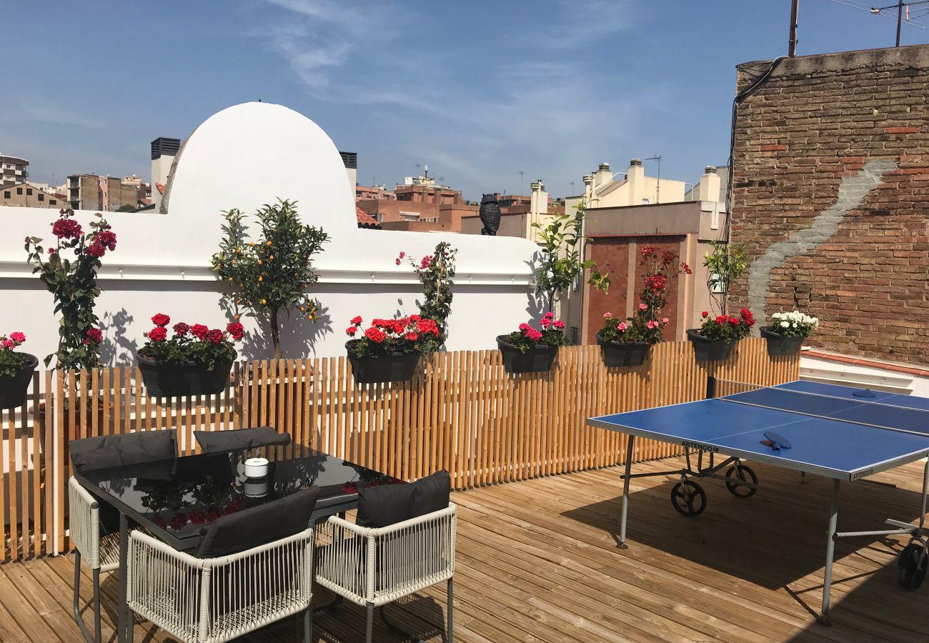 Apartamento en Hospitalet de Llobregat - Olala Design Apartment 3.1 | 10m Pl.España