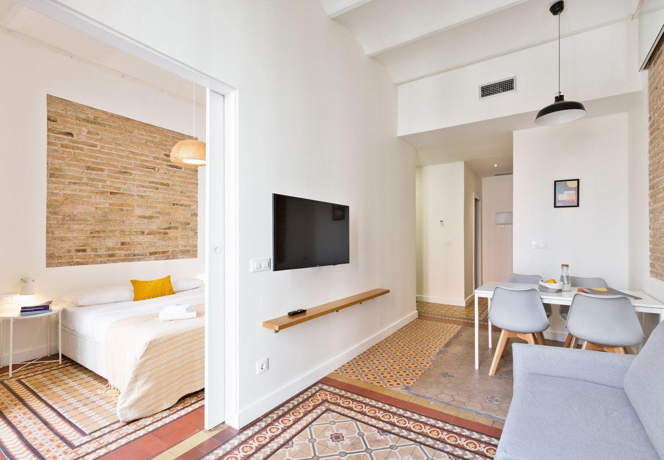 Apartamento en Hospitalet de Llobregat - Olala Design Apartment 2.1| 10m Pl.España