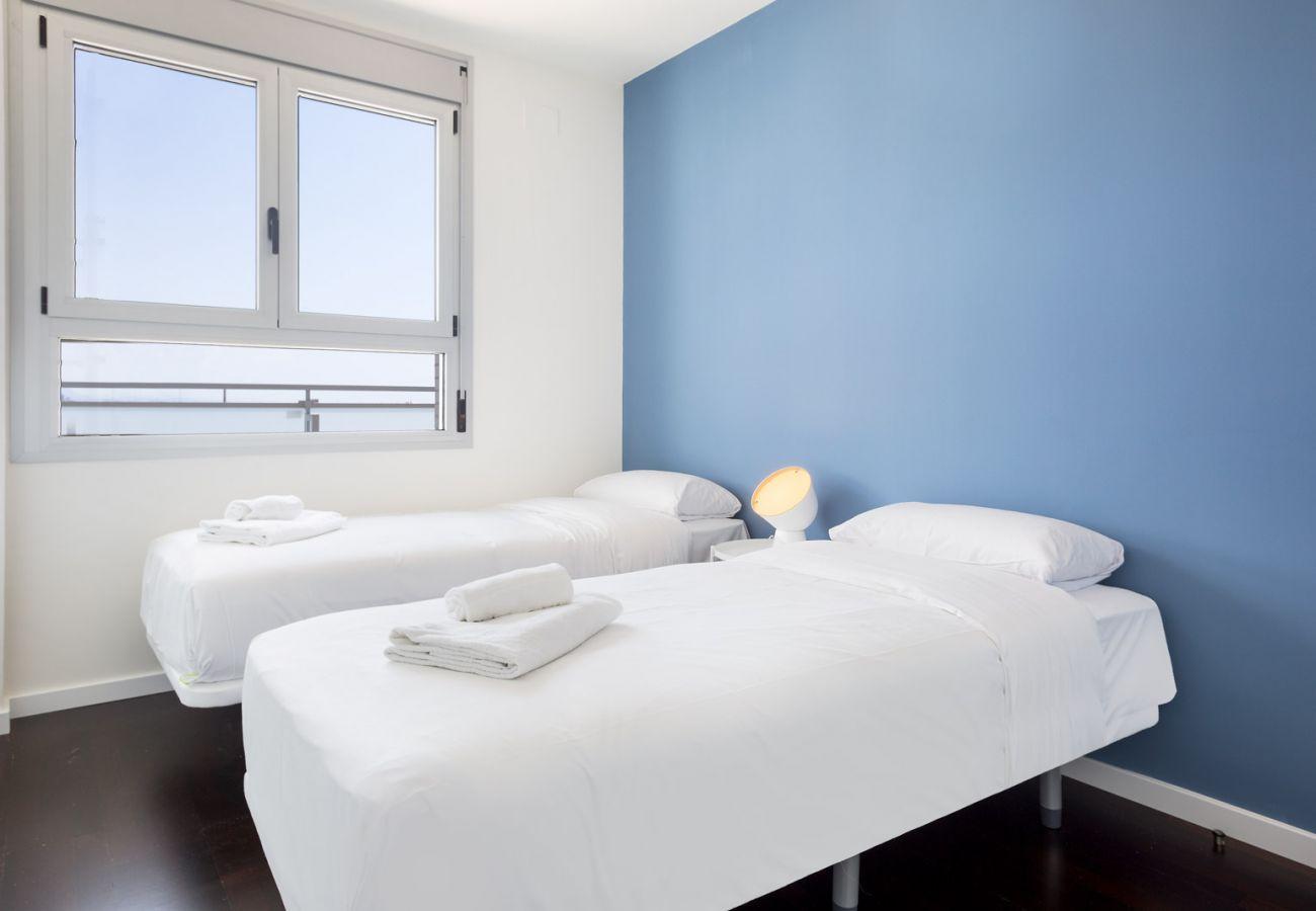 Apartamento en Sant Adria de Besós - Olala Port Forum Sea View Penthouse