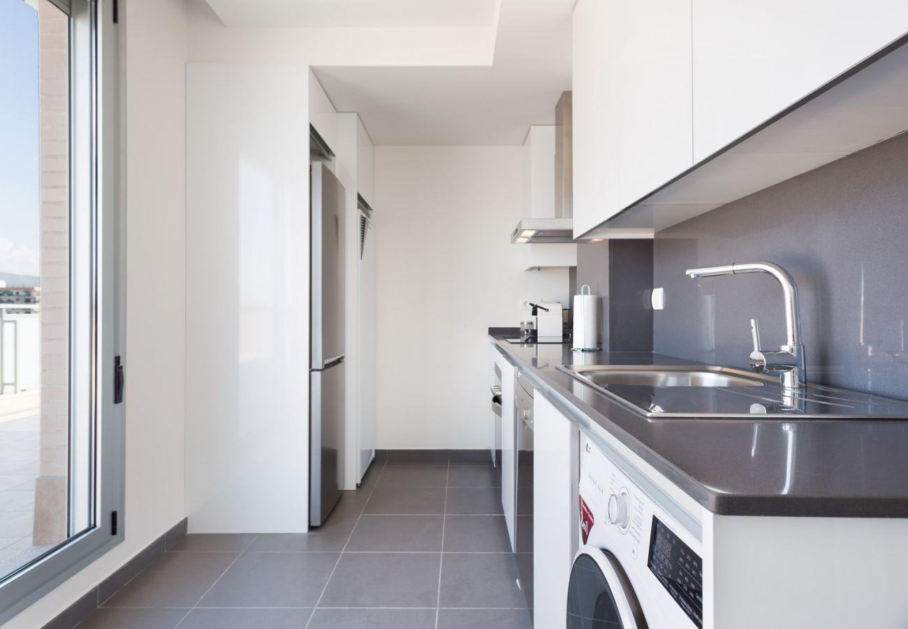 Apartamento en Sant Adria de Besós - Olala Port Forum Apartment 1.3 (115)
