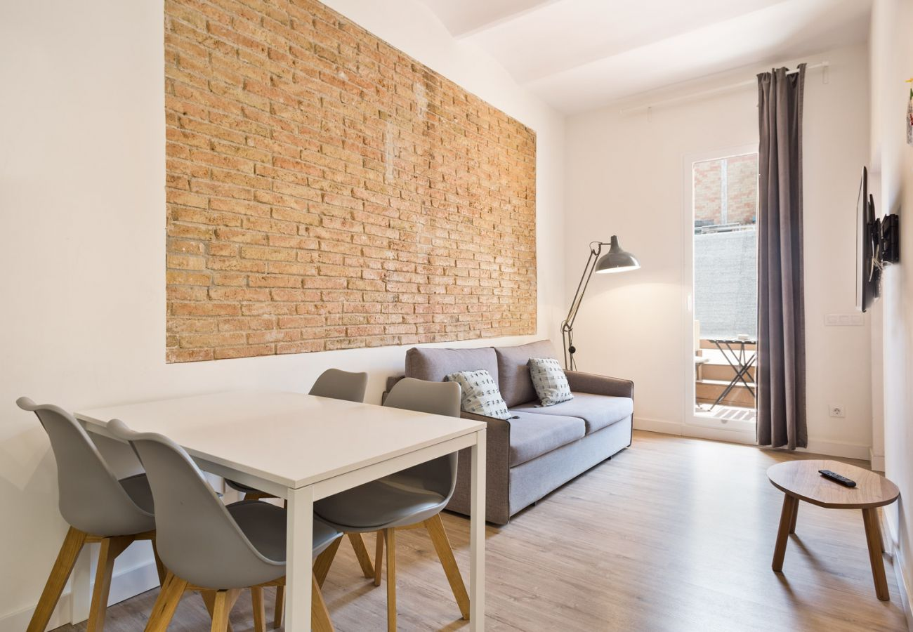 Apartamento en Hospitalet de Llobregat - Olala Design Apartment 1.2|Terrace|10m Pl.España
