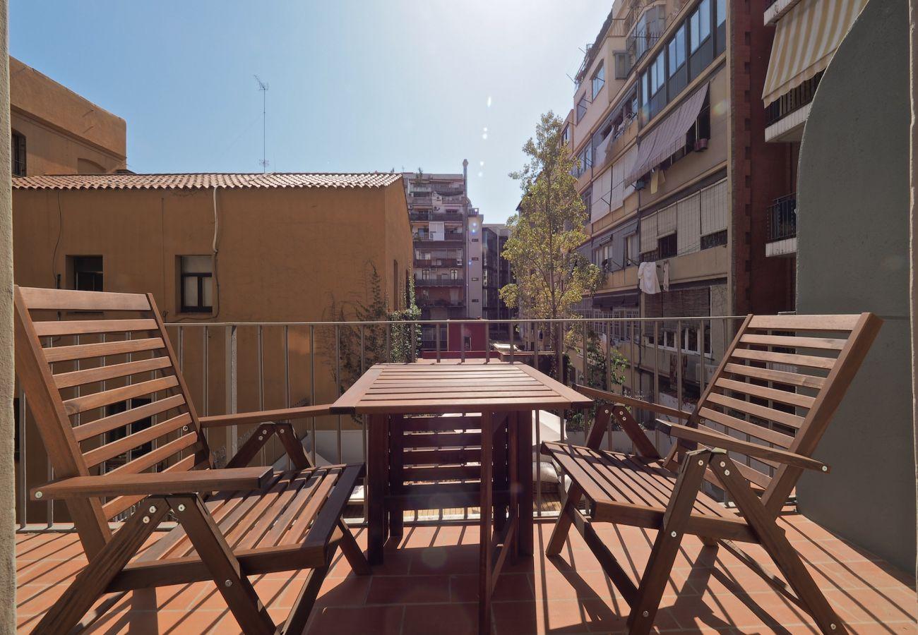 Apartamento en Barcelona - Eixample Center 1BR Apartment