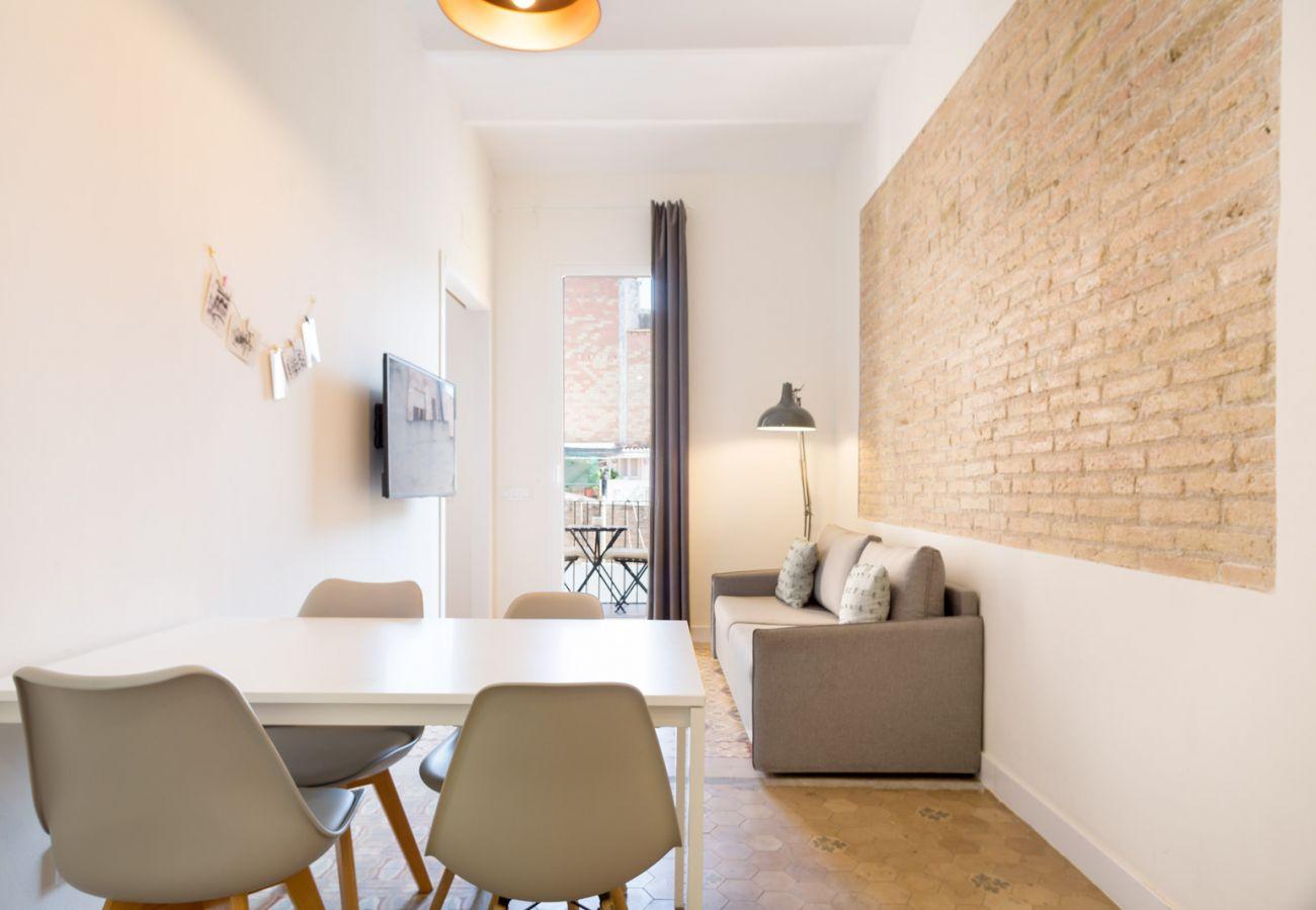 Appartement à Hospitalet de Llobregat - Olala Design Apartment 2.3 | 10m Pl.España