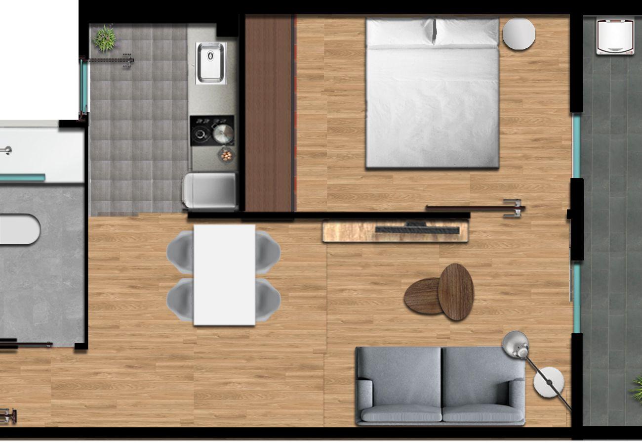 Appartement à Hospitalet de Llobregat - Olala Design Apartment 3.2 | 10m Pl.España