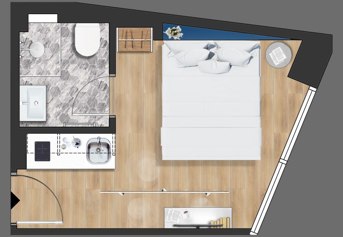 Studio à Athens - Olala Syntagma Apartment 2.1