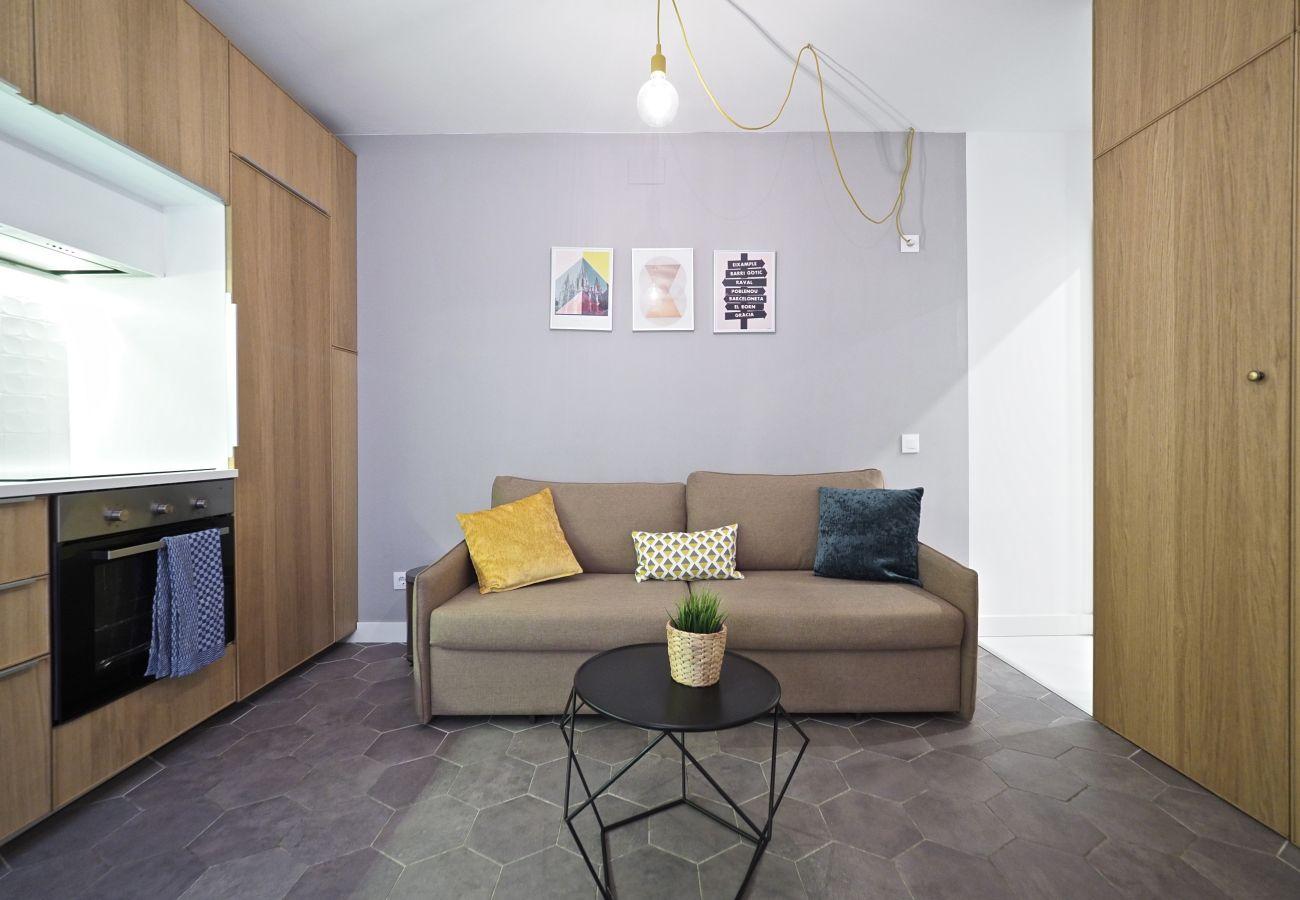 Apartment in Hospitalet de Llobregat - Olala Cozy Flat | 12m Pl.Espanya | Metro Torrassa
