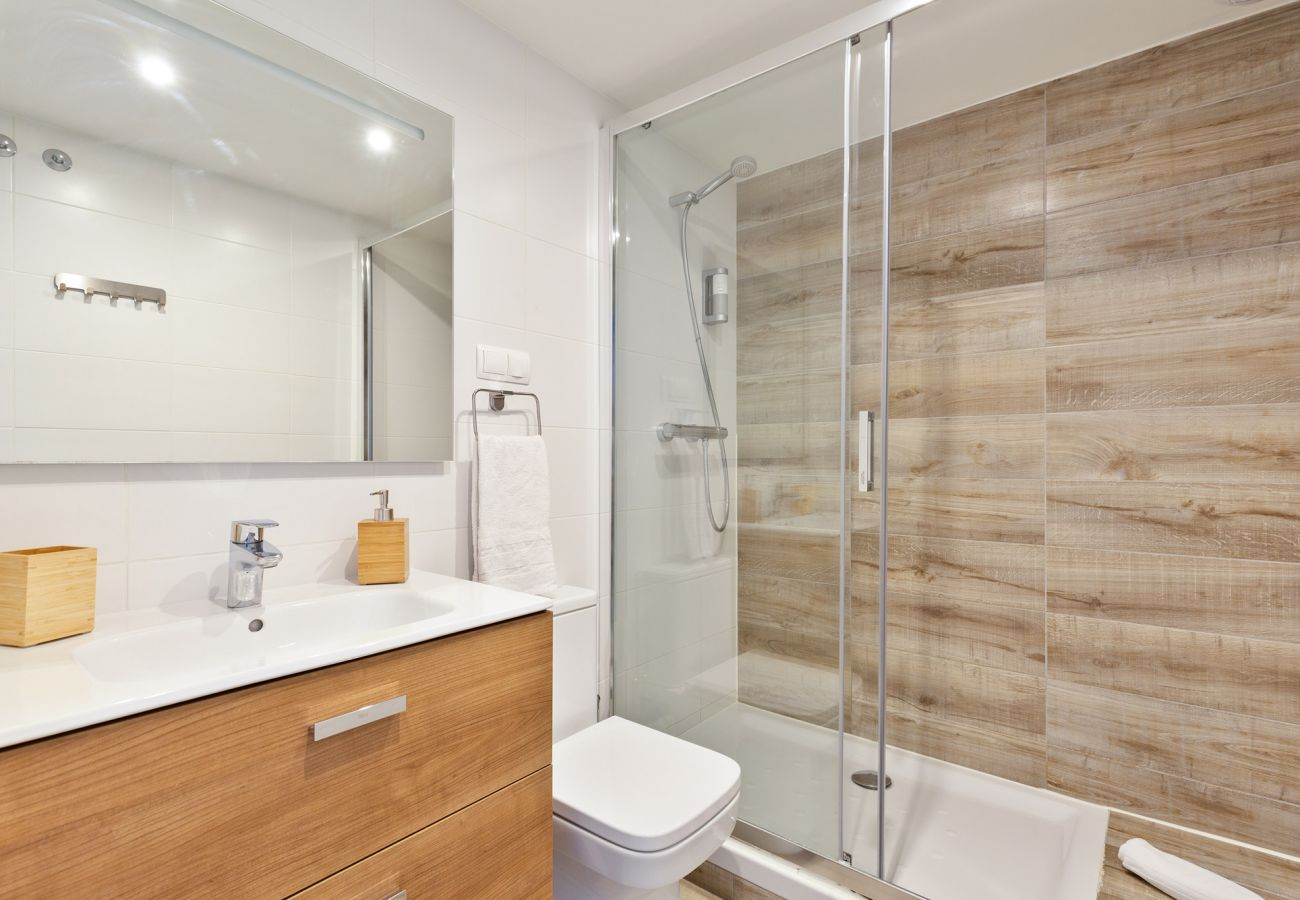 Apartment in Sant Adria de Besós - Olala Port Forum Ground Floor 3 bedroom with Terrace G1