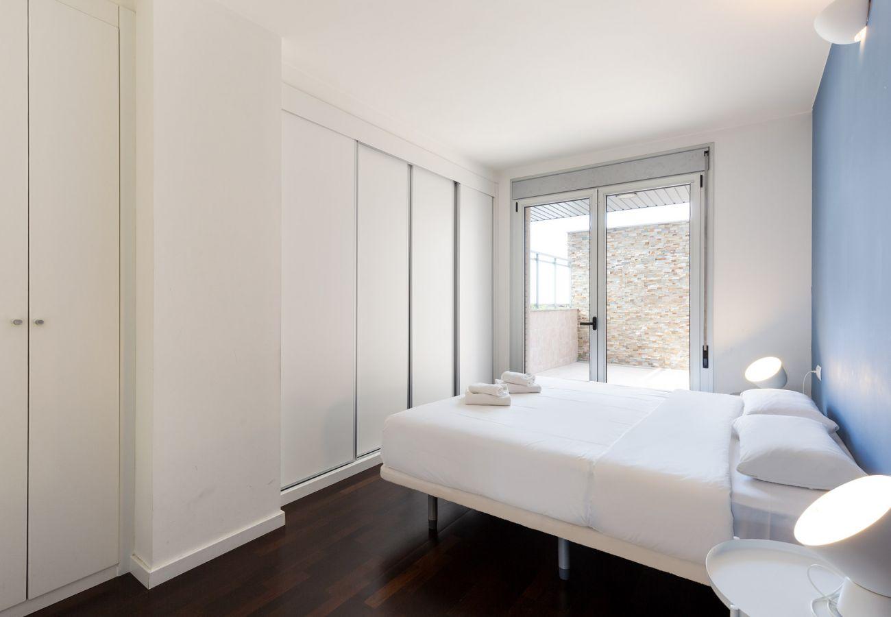 Apartment in Sant Adria de Besós - Olala Port Forum Ground Floor 3 bedroom with Terrace G2