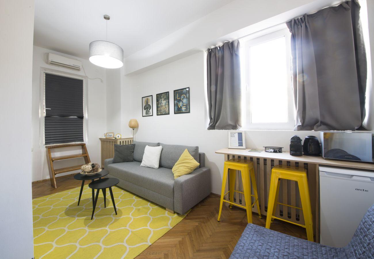 Studio in Bucharest - Olala Unirii Center Apartment 8.24 | Unirii Square